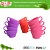Eco-friendly And Non-stick Food Grade Cheap Silicone Teacup Cup Cake Birthday Decorations For Cakes