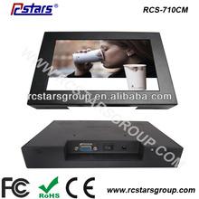 7 inch tft lcd color monitor,small vga lcd monitor