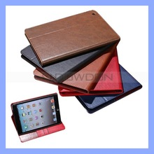PU Leather Stand Case for iPad Mini 2 Case Cover