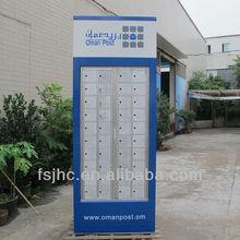 Foshan JHC Aluminum Goverment Apartment Mailbox /Locking Letter box/Postal boxes