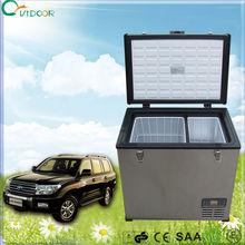 80L mini portable car refrigerator 12v/24v