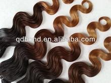 human hair complete cuticle body wave virgin hair ombre brazilian hair