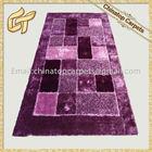 South Korea Silk Long Hair Polyester Shaggy Carpet