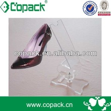 acrylic shoes display stand riser