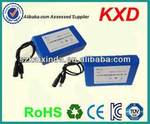 li-ion polymer high capacity portable battery 12v 10000 mah