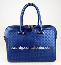 royal blue tote bag fashion lady design