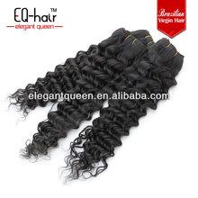 100% Virgin Human Hair Weave Deep Curls Brazilian Remy Hair