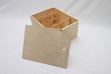 wine packing wooden box