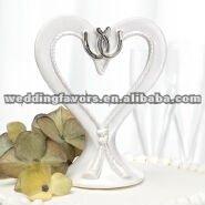 wedding gift Linked Horseshoes Cake Top