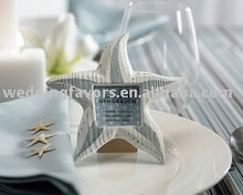 """Nature's Bounty"" Wooden Starfish Frame/Place Card Holder"