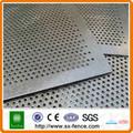 Agujero redondo perforación net  de malla perforada( fabricante)