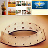 compact brake linings FMSI 1308 Contact us to get free samples and Quick Quote