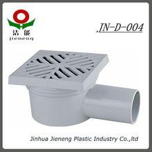 Bathroom PVC Floor Drain with Square Design JN-D-004,floor drain strainer