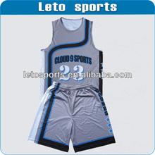 new offer reversible latest basketball jersey design/basketball uniform/wear
