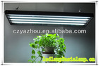 24W 54W t5 fluorescent hanging light fixture for plant growing