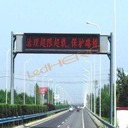 electronic board led/P25 outdoor advertising led display/P25 solar powered led traffic sign
