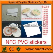 125khz 13.56MHz rfid stickers