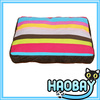 Colorful Strips Cozy Craft Soft Pet Beds Dog Cushion