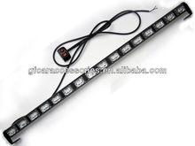 48 LED White Emergency Traffic Advisor Flash Strobe Light Bar Warning