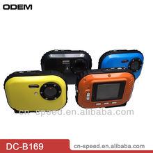 "Original manufacture 1.8"" TFT LCD 3mters underwater waterproof digital camera 3.0 MP"