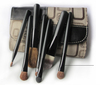 Deluxe Makeup cosmetic Brush Set/7 pcs/One Case
