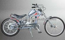 24 inch 50cc gas motored chopper bicycle