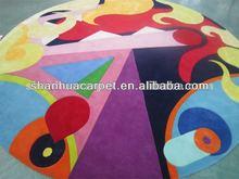 colourful pattern design children carpet for bedroom