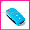 Bulk cheap silicone key shells for car,eco-friendly material silicone rubber key shell for volkswagen key case