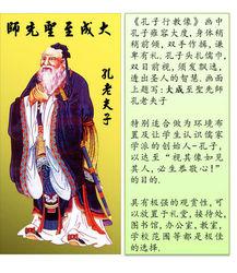 Confucius Portrait _ Kong Zi