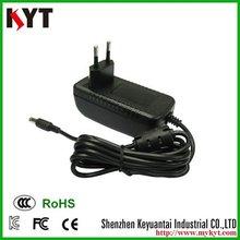 Origin manufacturer 24W 12V2A digital camera adapter for Canon,Nikon,Sony,CCTV ,HDMI,Settop box,DVD player