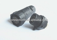 M14 8 pin LED power special waterproof connector adapter