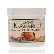 KRAUTERHOF BODY CREAM with RED VINE LEAVES 250 ML