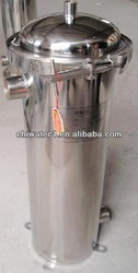 precision water filter machine with filter cartridges filling