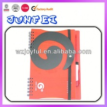 Promotional 2012 notebook with calendar