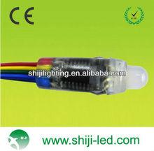 dmx 512 led pixel rgb led pixel lighting Dc5V 50pcs/string with pitch 8cm