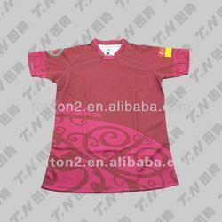 running dry fit custom sport t shirt custom sublimation team