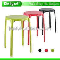 (V052003) Multipurpose metal round lab stool