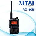 Yaesu vx-8gr 5w banda dual inalámbrico de radio de dos vías ipx5