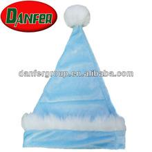 Velvet infant christmas hats