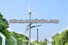 20 W 30 W 40 W 50 W 60 W 80 W 120 W turbina de viento y Solar híbrido LED luces de la calle camino del jardín de la lámpara