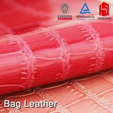 (Bag Leather, Fashion Leather, Fake Leather)High Quality Crocodile Pattern PVC Leather For Sofa Furniture