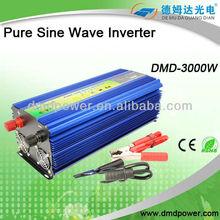 pure sine wave inverter DC 12v AC 220v 3000w frequency converter 50hz 60hz