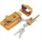 3pcs iron key for zinc alloy security rim lock type