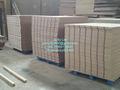 Simple baratos pvc/melamina mdf ranura, el panel del slatwall, ranura de la pared tablero de mdf