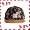 80%arcylic 20% wool high quality flat brim 5 panel snapback cap for sale