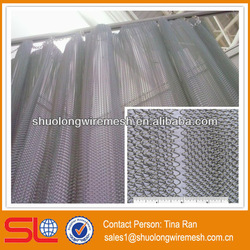 China Hebei 2013 newest fashionable decorative curtain metal fabric for hotel,steel mesh curtain