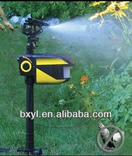 scarecrow motion-activated sprinkler protects yard / garden from animals