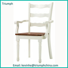 Italian style best selling wooden untique arm led chair