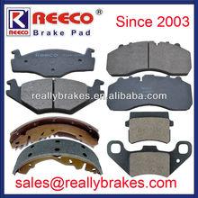 Top Quality Non-asbestos Semi-metallic Ceramic Brake Pad