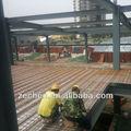 el diseño de la luz la estructura de acero casa hecha en china